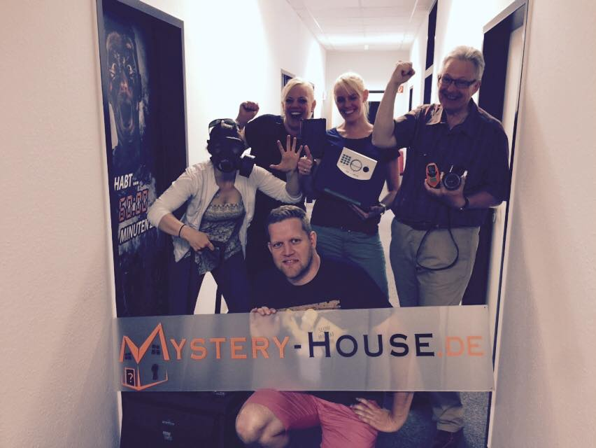 Blogger-Event im Mystery House - Escape Game Hamburg Harburg