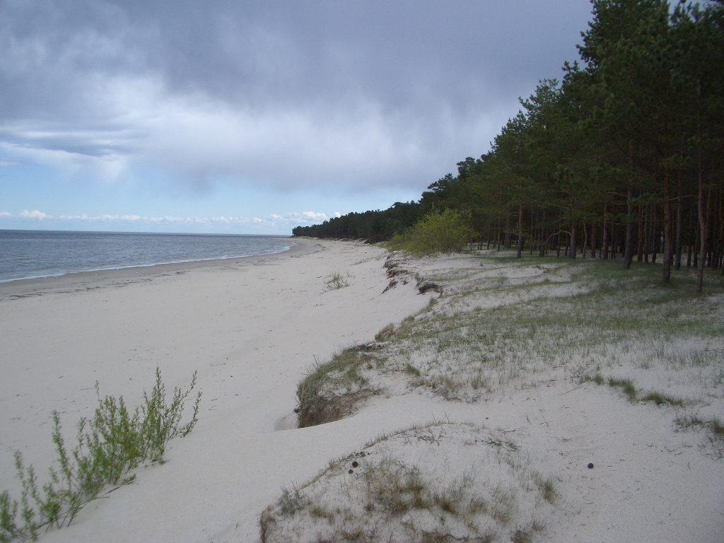 Am Strand von Lettland