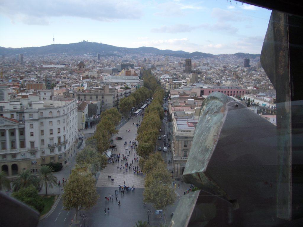Städtetrip Barcelona 2004
