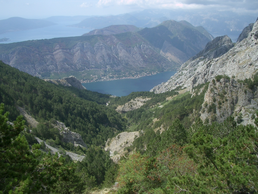 Unterwegs in den Bergen von Monte Negro