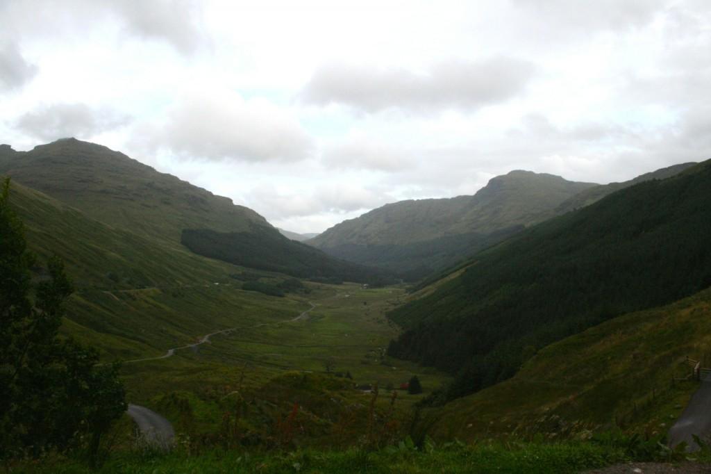 Irgendwo mitten in Schottland