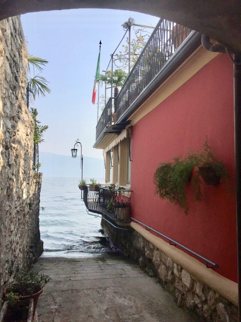 Reise an den Gardasee