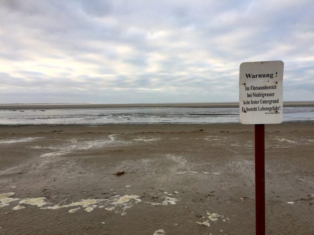 Silvester auf Langeoog - Wattwanderung