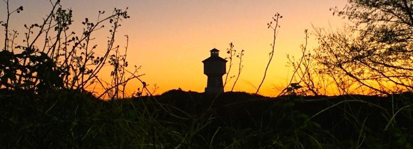 Allgegenwärtig - das Wahrzeichen von Langeoog - der Wasserturm