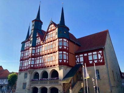 Duderstadt Sehenswuerdigkeiten Rathaus Duderstadt