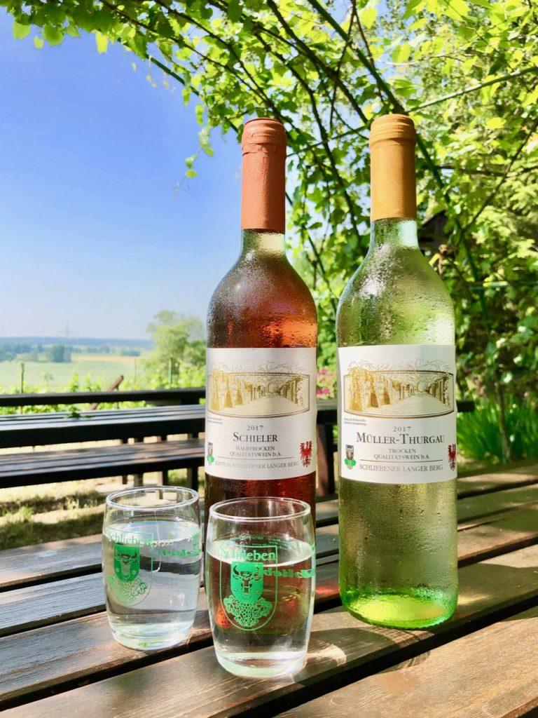 Wein vom Weinberg in Schlieben im Elbe-Elster-Land