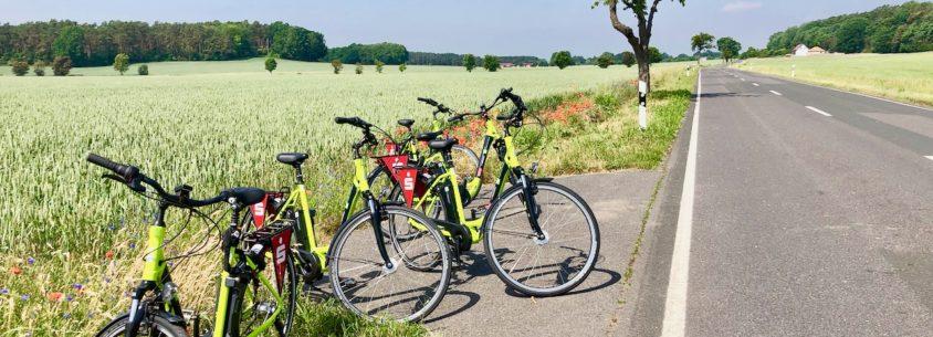 Mit dem E-Bike durch Elbe-Elster