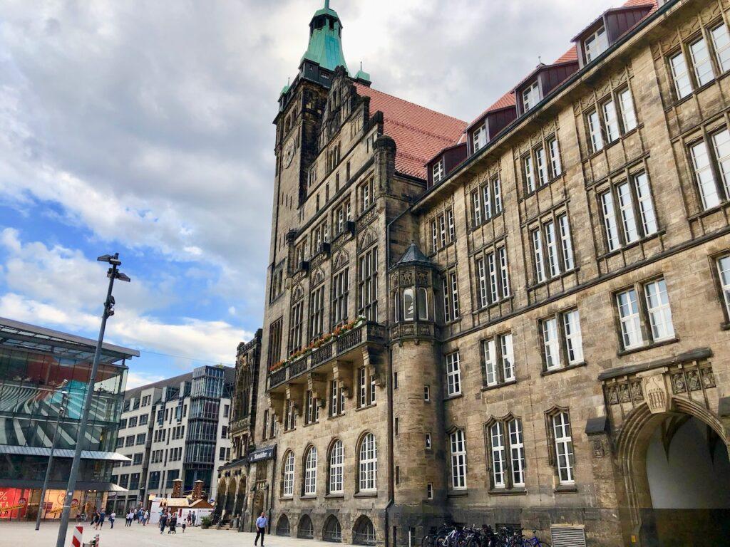 Chemnitz Stadt der Moderne und Kontraste