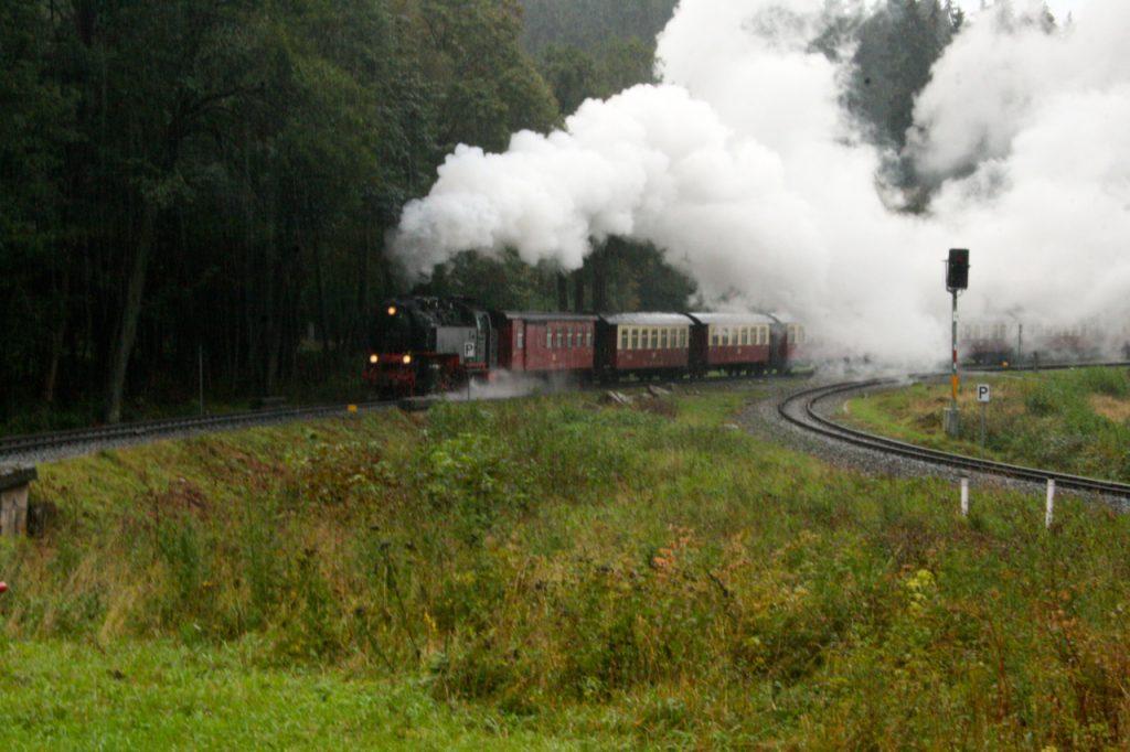 Eine Fahrt mit der Dampflok
