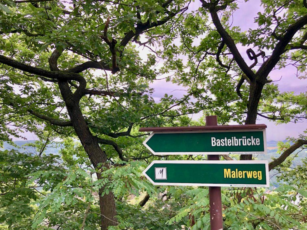 Wandern Bastei Elbsandsteingebirge