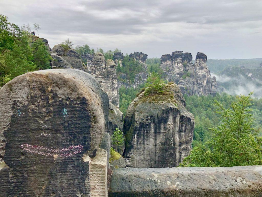 Blick von der Bastei Bruecke