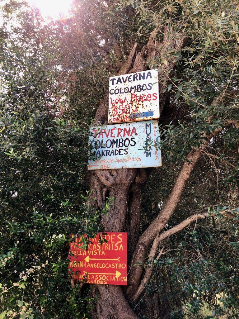 Korfu Trail wandern