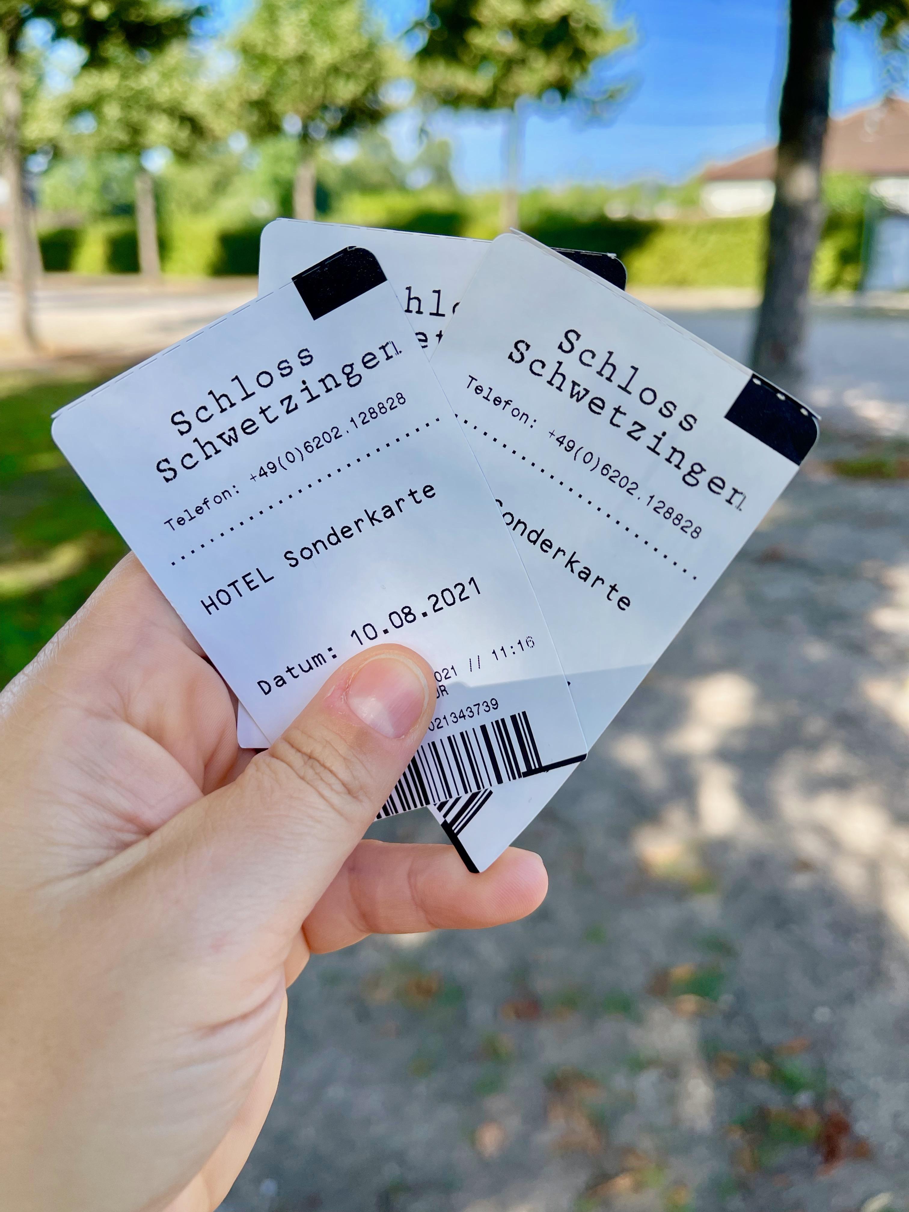 Freikarten Schlosspark Schwetzingen