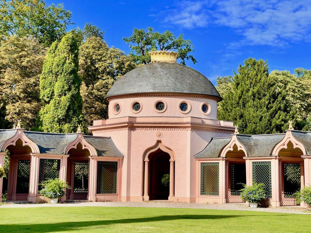 Ausflugsziele Pfalz Schlossgarten Schwetzingen