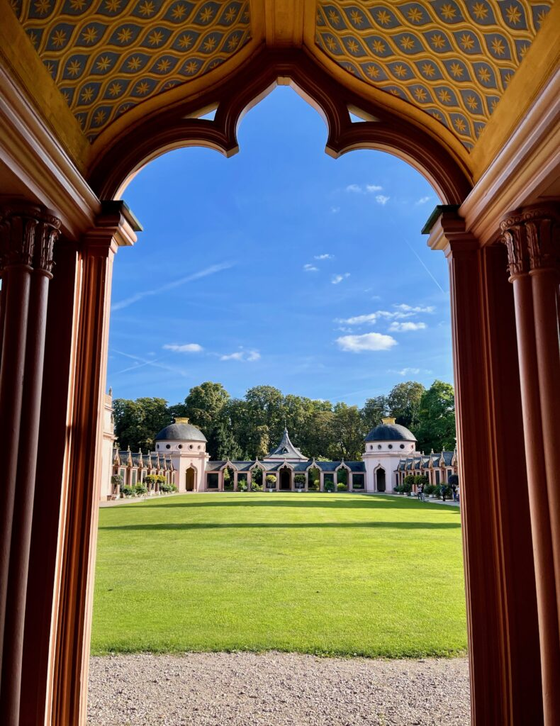 Gartenmoschee Schwetzingen Schlossgarten