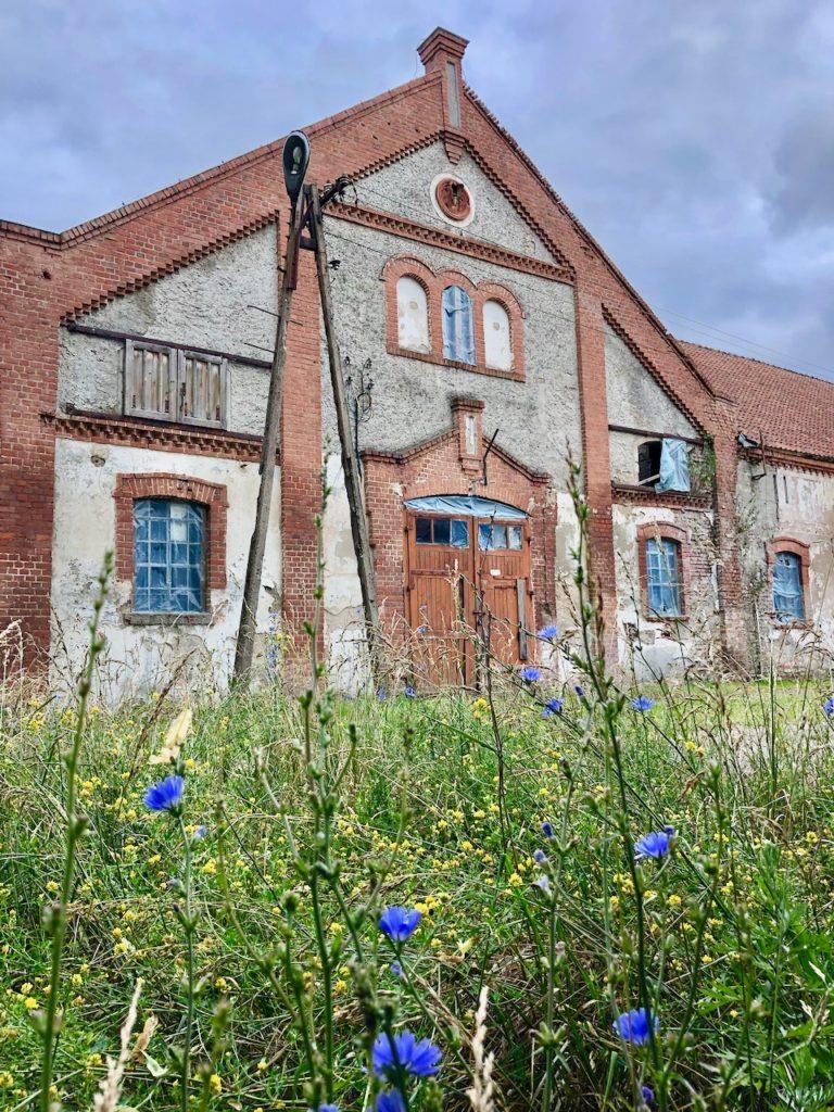 Kurz vor Wegorzewo am alten Schloss