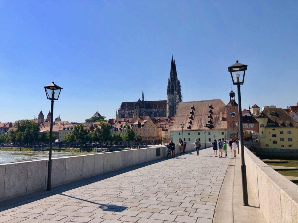 Steinerne Bruecke Regensburg