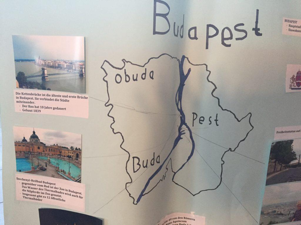 Mein Plakat Schulprojekt Budapest
