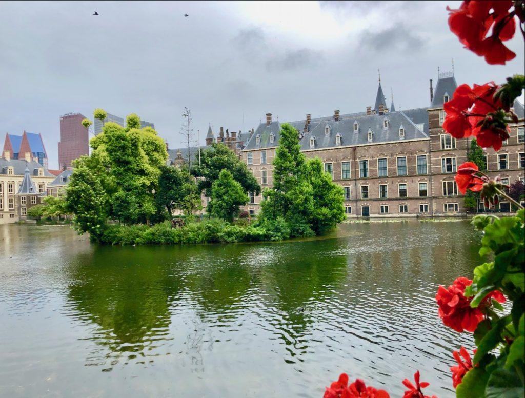 Den Haag Holland im Regen
