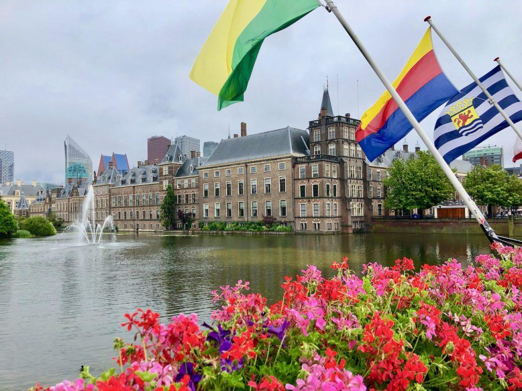 Den Haag Blick zum Binnenhof