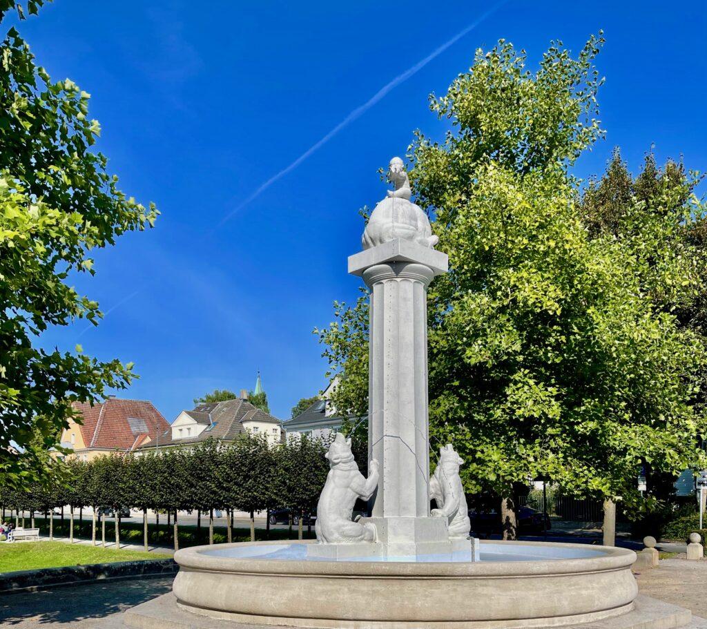 Sehenswuerdigkeiten Hamm Baerenbrunnen