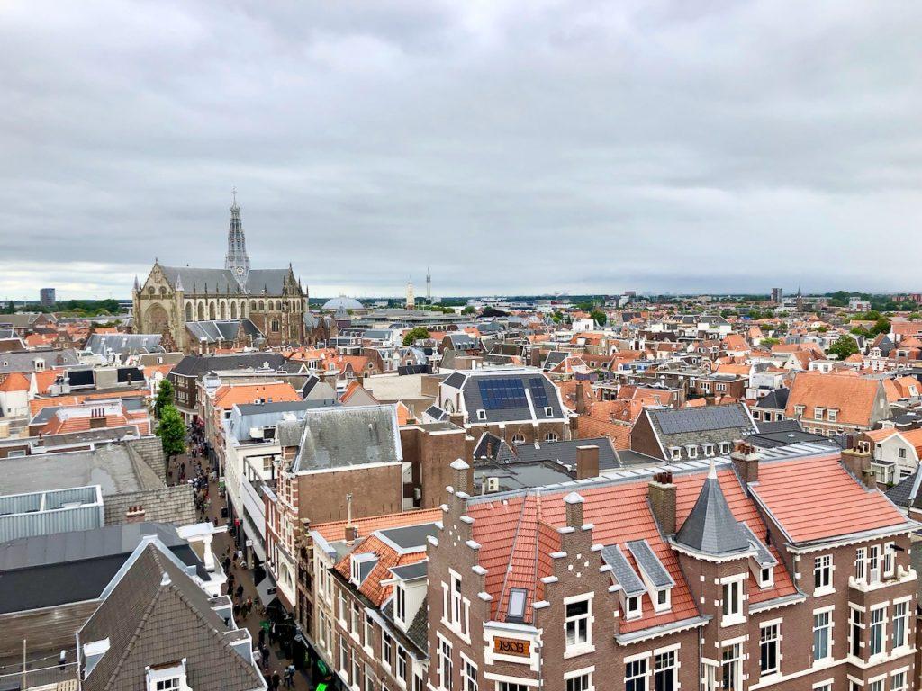 Blick auf Haarlem