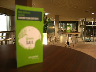 Green Sail im Atlantic Hotel Sail City Bremerhaven