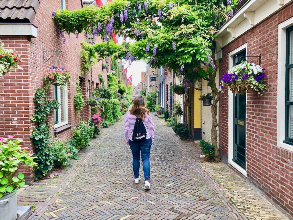 In den Strassen von Alkmaar Holland