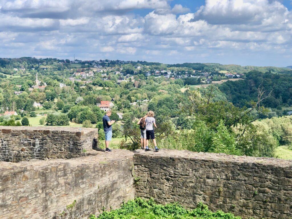 Aussicht Burg Blankenstein