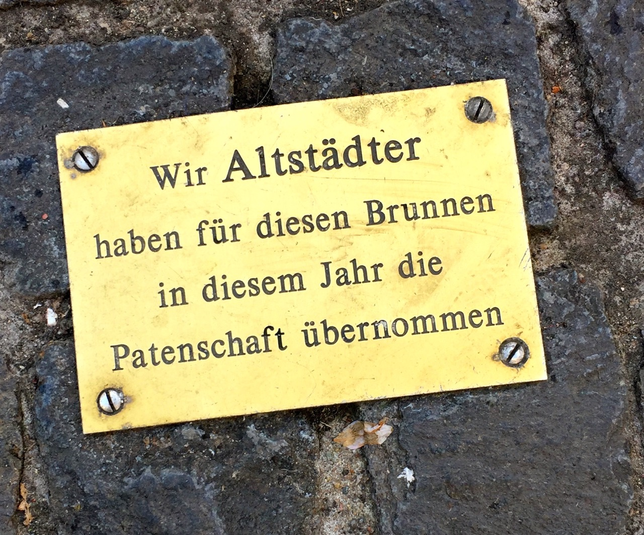 Altstadtbrunnen in Bonn