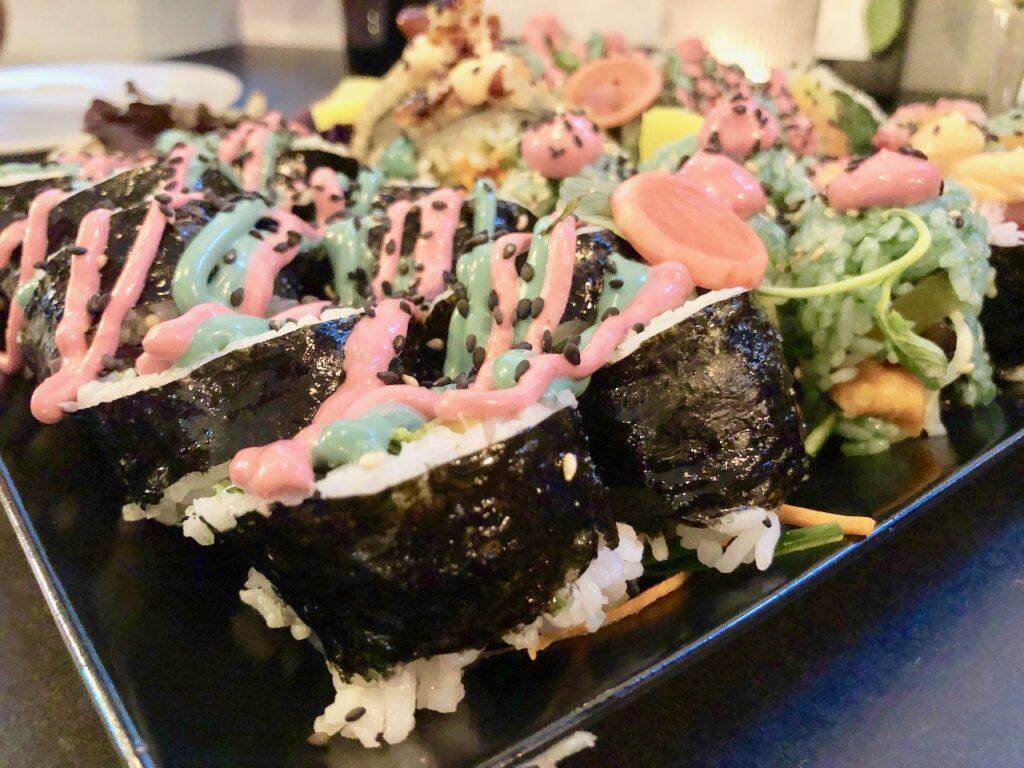 Buntes Sushi KIMBAP SPOT Bochum