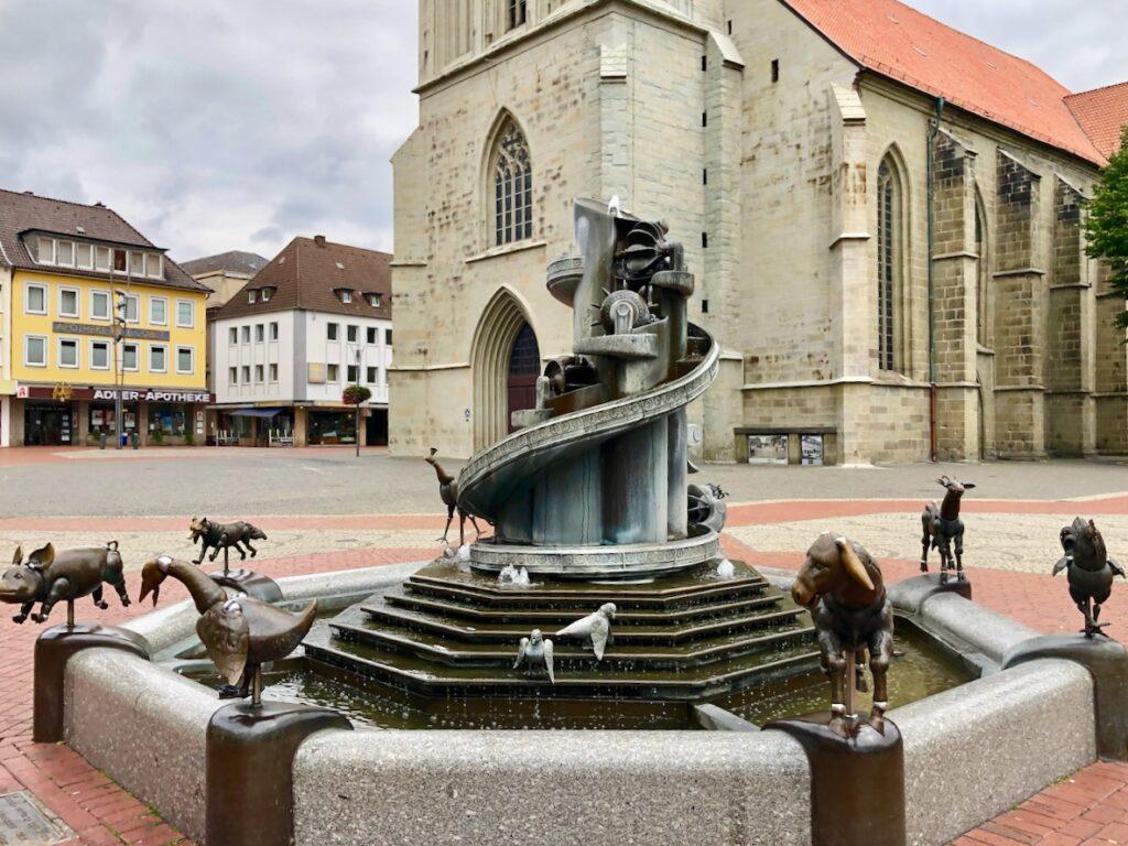Tierbrunnen Hamm