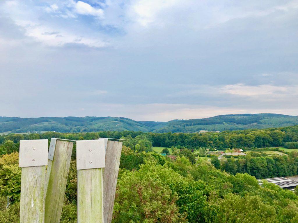 Aussicht vom Turm im Sauerlandpark