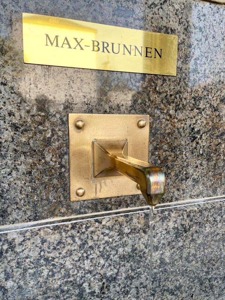 Max Brunnen Heilwasser Bad Kissingen