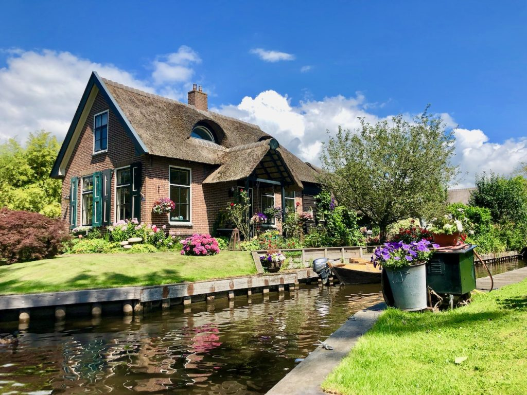 Tagesausflug nach Giethoorn