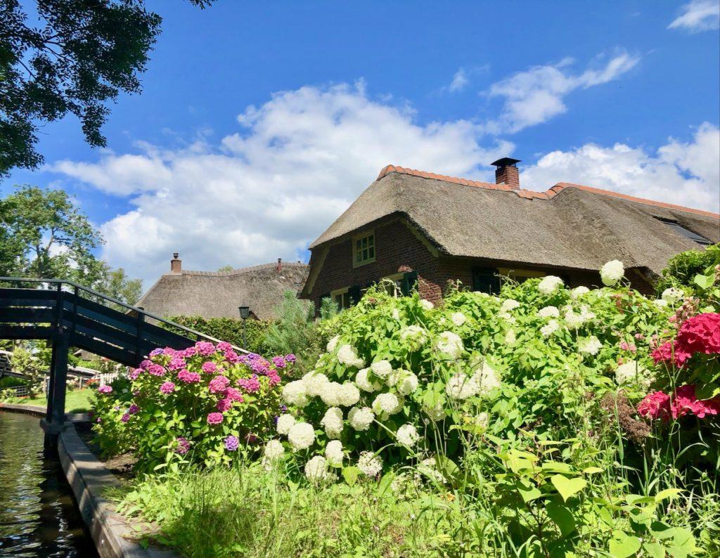 Giethoorn Ferienhaus mit Boot