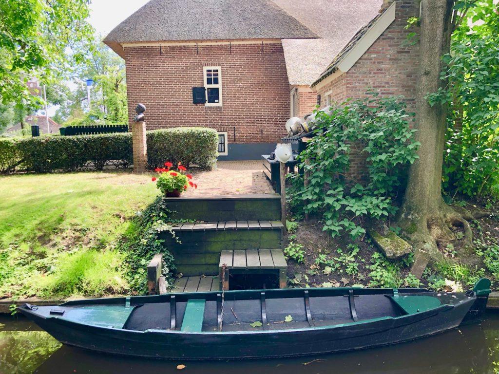 Giethoorn Fotos: Ferienhaus mit Boot