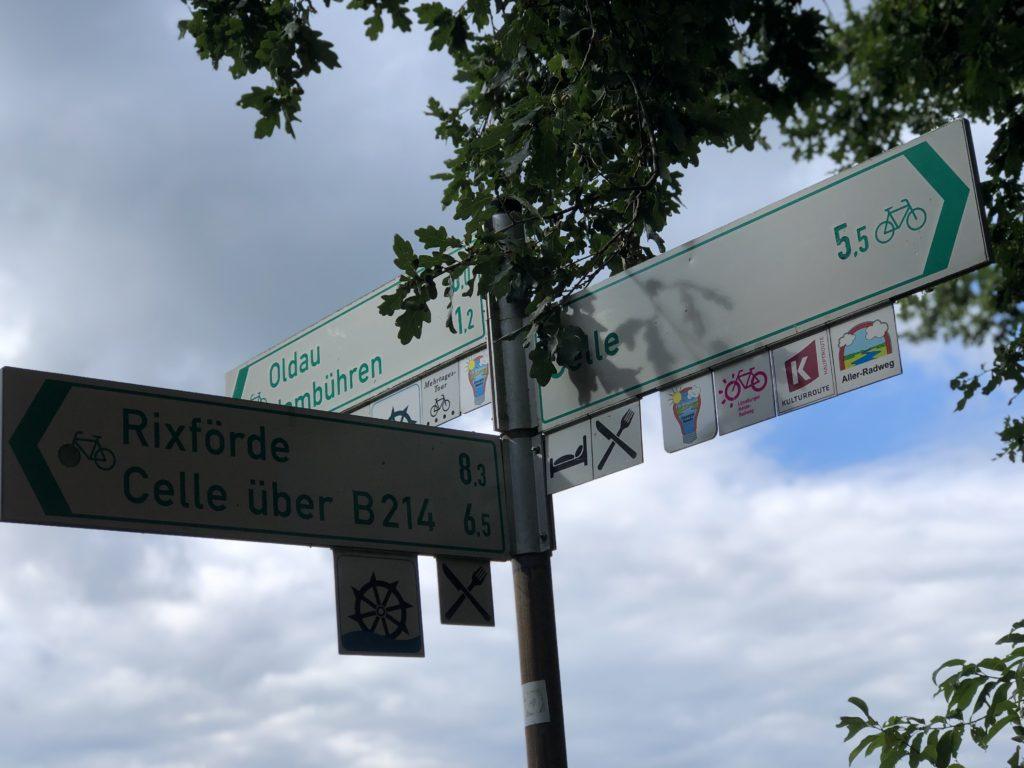 Aller-Radweg Celle