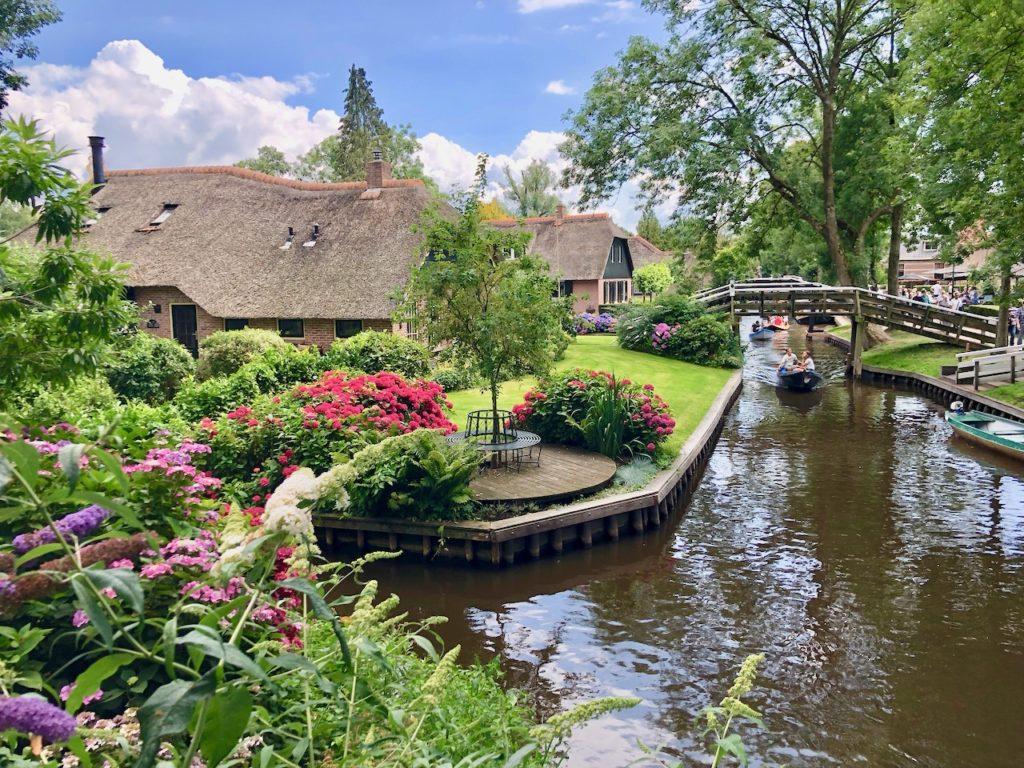 Giethoorn Ferienhaus am Wasser