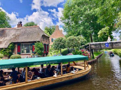 Giethoorn Niederlande: Venedig des Nordens oder...