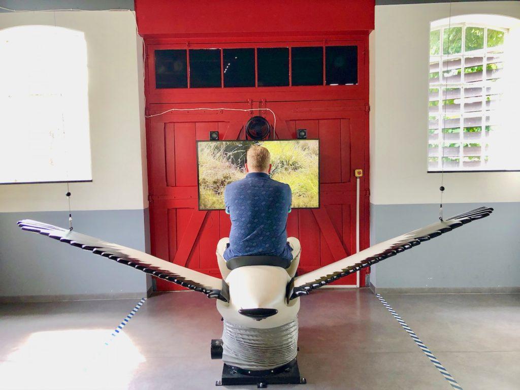 Enfenflugsimulator Bourtanger Moor