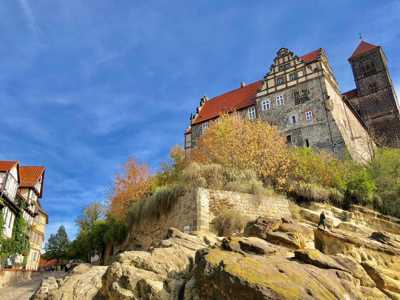 Urlaub im Harz: Quedlinburg Schlossberg und Altstadt
