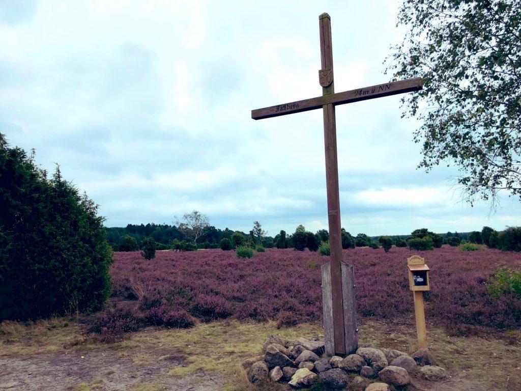 Gipfelkreuz Fassberg Lueneburger Heide
