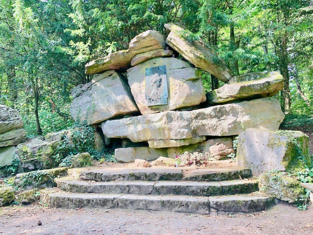Sisi Denkmal auf dem Altenberg