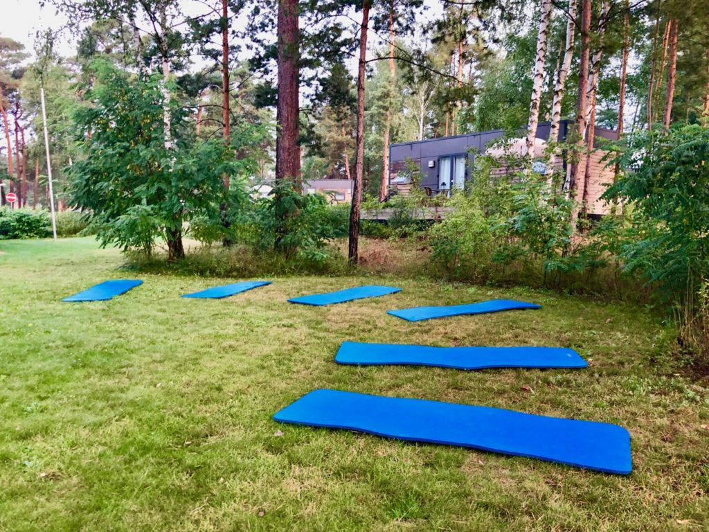 Spreewald Yoga im Tropical Islands Resort