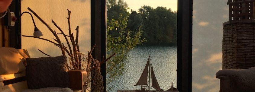Seehotel Niedernberg - Bootshaus auf Insel