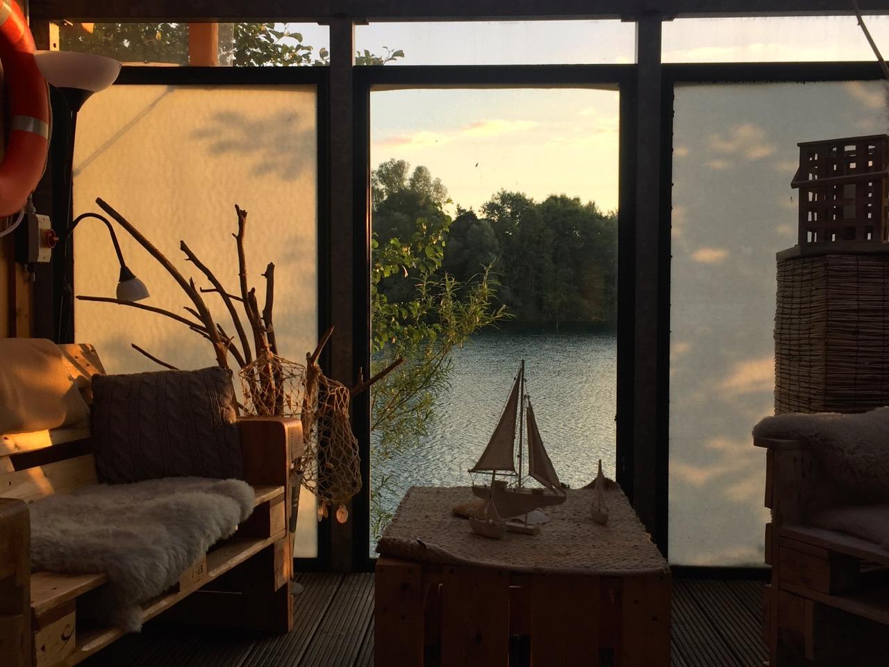 Seehotel Niedernberg – Bootshaus auf Insel