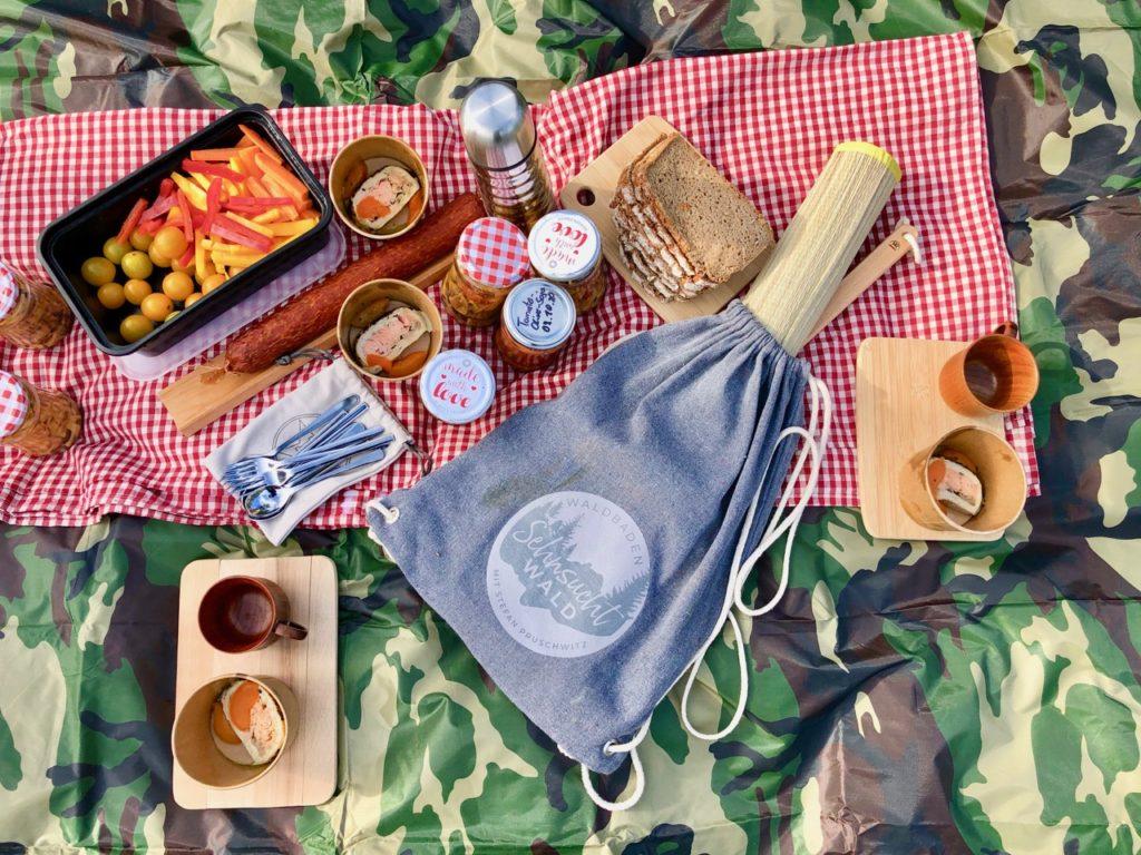 Waldbaden Picknick
