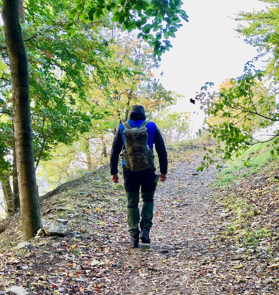Waldbademeister Stefan von Sehnsucht Wald