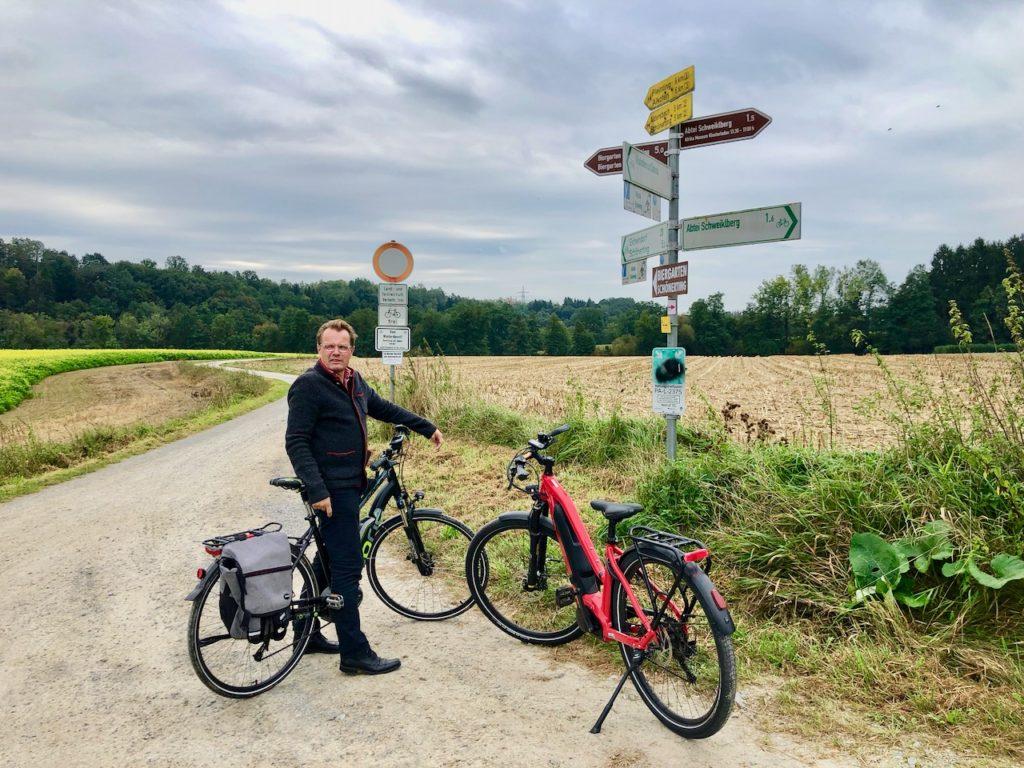 Fahrradroute Niederbayerntour